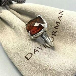 David Yurman SS Chatelaine 14mm Citrine Diamond
